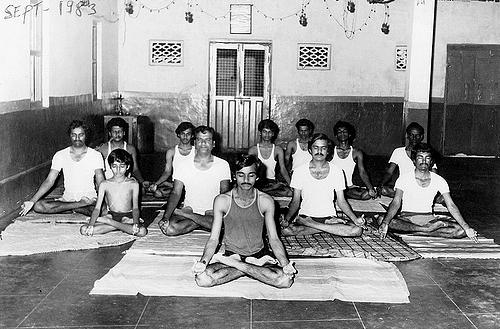 Yoga Class at September 1983